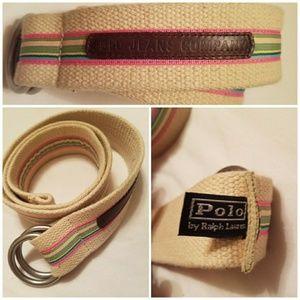 Polo by Ralph Lauren Designer Belt- Ladies
